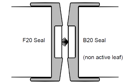 90 minute fire rated door diagram