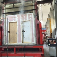 how are fire doors tested